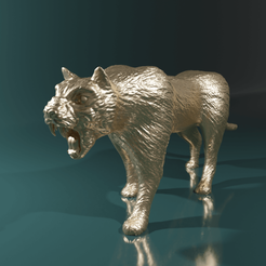 Download 3D printing models Panther, The-Inner-Way