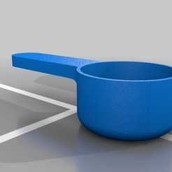Télécharger modèle 3D gratuit Pelle à café, ksouth