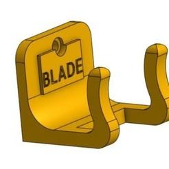 Modelos 3D para imprimir un porta cuchillas de afeitar, SEbastienRE