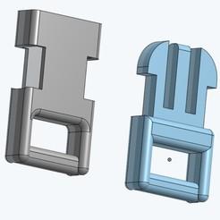 Imprimir en 3D gratis Clip (pequeño), lejardin
