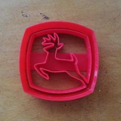 Download STL file John deere cookie cutter • Design to 3D print, abcdefgera