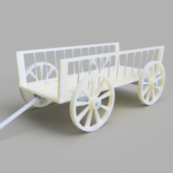 Free 3D printer model cart, justalbin