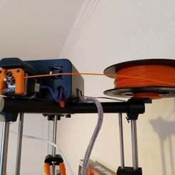 IMG_20190103_145828[1.jpg Download free STL file Spool holder for Neutron delta printer / Support de bobine pour imprimante delta Neutron • Model to 3D print, Alarik72