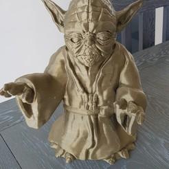 Free STL Master Yoda, patfolle