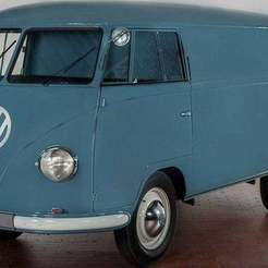 thumb-1920-1071343.jpg Download free STL file VW Transporter Panel Van 1957 • 3D printing template, Louisdioramas