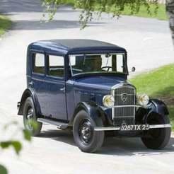unnamed_12.jpg Download free STL file Peugeot 201 Berline 1932 • Model to 3D print, Louisdioramas