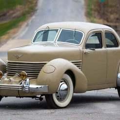 sc0517-282574_12x.jpg Télécharger fichier STL gratuit Cord 812 Beverly Sedan 1937 • Plan à imprimer en 3D, Louisdioramas