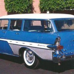 l.jpg Download free STL file Pontiac Safari Station Wagon 1957 • Model to 3D print, Louisdioramas