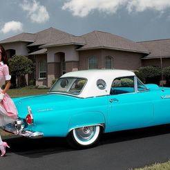 08cea5fef724a0aedd86bfa1a411f645.jpg Download free STL file Ford Thunderbird Hardtop 1955 • 3D printing template, Louisdioramas