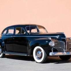 dodge_luxury_liner_custom_town_sedan.jpg Télécharger fichier STL gratuit Dodge Custom Sedan 1941 • Plan pour impression 3D, Louisdioramas
