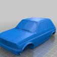 Télécharger fichier STL gratuit Peugeot 104 ZS-ZS2 1975-1985 • Modèle pour imprimante 3D, Louisdioramas