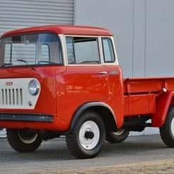 DSC_0893-1280x851-2.jpg Download free STL file Willys Jeep FC150 Forward Control 1957 • 3D print object, Louisdioramas