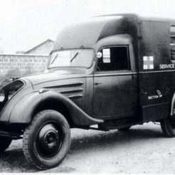3094253513_1_3_ivB3kUbh.jpg Download free STL file Peugeot DK5 J Ambulance Prototype 1940 • 3D printer template, Louisdioramas