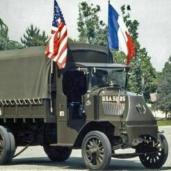MACK-AC-1916-Bulldog.jpg Télécharger fichier STL gratuit Mack AC Bulldog 1916 WW1 • Plan pour imprimante 3D, Louisdioramas