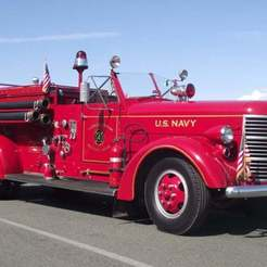 Download free STL files American LaFrance Series 600 Fire Truck 1941, Louisdioramas