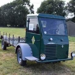 img-763312144e.jpg Descargar archivo STL gratis Renault 212 e1 Tacot fardier d'usine (1947) 1/43 • Plan imprimible en 3D, Louisdioramas