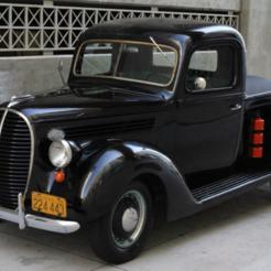 Télécharger plan imprimante 3D gatuit Ford F100 Pick Up 1939, Louisdioramas