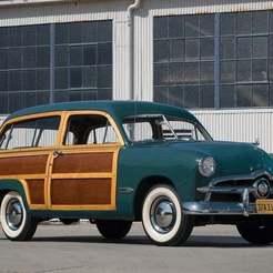 ford-custom-station-wagon-1949-270003.jpg Download free STL file Ford Custom Station Wagon 1949 • Object to 3D print, Louisdioramas