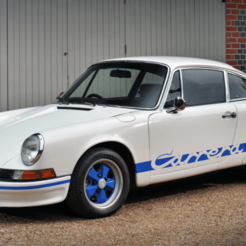 Porsche-911-Carrera-RS-2.7.png Télécharger fichier STL gratuit Porsche 911 2.7 RS 1973 • Objet à imprimer en 3D, Louisdioramas