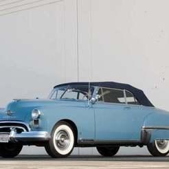 48463-1949-oldsmobile-88-convertible-coupe.jpg Download free STL file Oldsmobile 88 Futuramic Convertible Coupe 1949 • 3D printing model, Louisdioramas