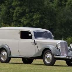 Download free 3D printer designs Mercedes-Benz 170 V (W136) Lieferwagen Panel Van 1938, Louisdioramas