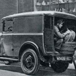 peugeot19.jpg Télécharger fichier STL gratuit Peugeot 301 Fourgon 1934 • Objet imprimable en 3D, Louisdioramas
