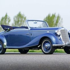 mercedes-benz-170-cabrio-03-86101848.jpg Download free STL file Mercedes-Benz 170 S Convertible 1938-1952 • 3D printer template, Louisdioramas