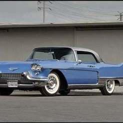 unnamed_10.jpg Télécharger fichier STL gratuit Cadillac Eldorado Brougham 1957 • Modèle imprimable en 3D, Louisdioramas