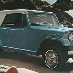 Descargar archivos STL gratis Jeep Kaiser Jeepster C101 1966, Louisdioramas