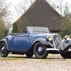 3888_10648143_0.jpg Télécharger fichier STL gratuit Citroën Traction Roadster 1936 • Plan pour impression 3D, Louisdioramas