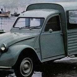 Download free 3D print files Citroën 2cv AK400 1975, Louisdioramas
