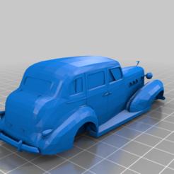 Cadillac_LaSalle_Series_50_Sedan_1935.png Télécharger fichier STL gratuit Cadillac LaSalle Série 50 Sedan 1935 V2 • Design pour impression 3D, Louisdioramas