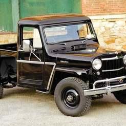 CC171-TRK-01.jpg Télécharger fichier STL gratuit Camionnette Willys Jeep 1950 • Objet imprimable en 3D, Louisdioramas