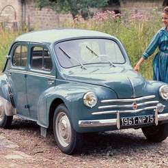renault_4_cv_sport_2.jpg Télécharger fichier STL gratuit Renault 4cv 1951 • Plan pour impression 3D, Louisdioramas