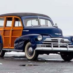 20-1543335838727.jpg Download free STL file Chevrolet Fleetmaster Station Wagon Woody 1948 • 3D printable object, Louisdioramas