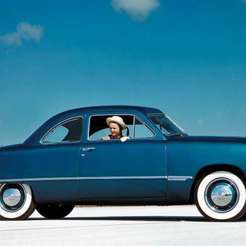 BB109Wq9.jpg Download free STL file Ford Custom Business Coupe 1949 • 3D print design, Louisdioramas