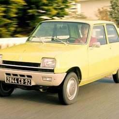 51855194.jpg Télécharger fichier STL gratuit Renault 5 1973 • Design pour impression 3D, Louisdioramas