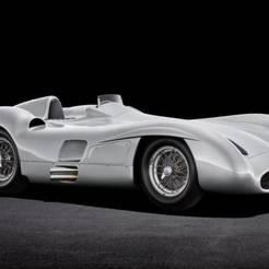 mercedes-benz-w196-r-streamliner.jpg Download free STL file Mercedes-Benz W196 Streamline Monza 1955 • 3D print model, Louisdioramas
