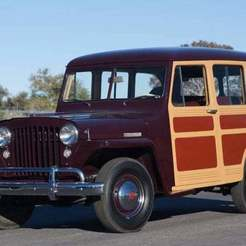 rc0215-207281_1.jpg Download free STL file Willys Jeep Station Wagon 1948 • 3D print model, Louisdioramas