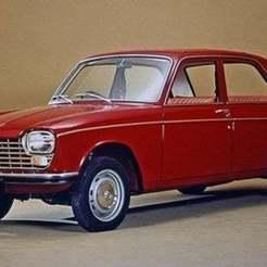 Peugeot-204-1.jpg Download free STL file Peugeot 204 1966 • 3D printing object, Louisdioramas