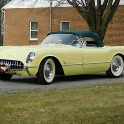 3.jpg Télécharger fichier STL gratuit Chevrolet Corvette C1 1955 • Modèle pour impression 3D, Louisdioramas