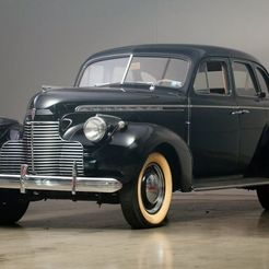 700.jpg Télécharger fichier OBJ gratuit Chevrolet Special Deluxe 4 Door Sport Sedan 1940 • Objet pour imprimante 3D, Louisdioramas