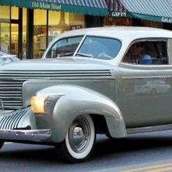 Descargar STL gratis Graham-Paige Model 97 Sedan 1939, Louisdioramas