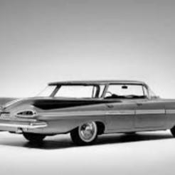 images_2.jpg Télécharger fichier STL gratuit Chevrolet Impala Sports Sedan 1959 • Objet imprimable en 3D, Louisdioramas