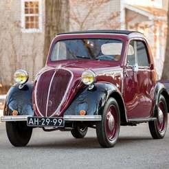 5-01-1024x768.jpeg Télécharger fichier STL gratuit Simca 5/Fiat 500 A Topolino 1938 • Design pour impression 3D, Louisdioramas