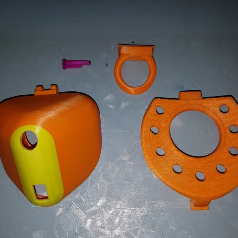 3D printer files Fully covered Male Chastity cage, HeartON