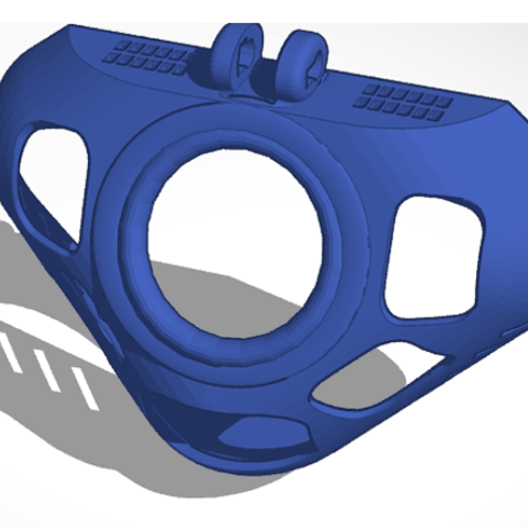 3D printing model P6 Open vented BACKs ONLY ALL sizes from 42-52mm, HeartON