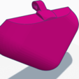 3D print model P6 Plain customizable front piece ONLY , HeartON