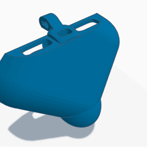 3D printing model The P6 FRONT FULL coverage vented front chastity piece., HeartON