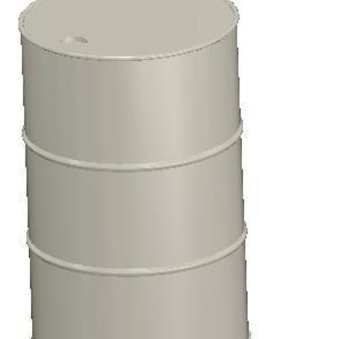 Télécharger fichier STL gratuit Baril de 200 litres 1:14, trucksandmore1zu14